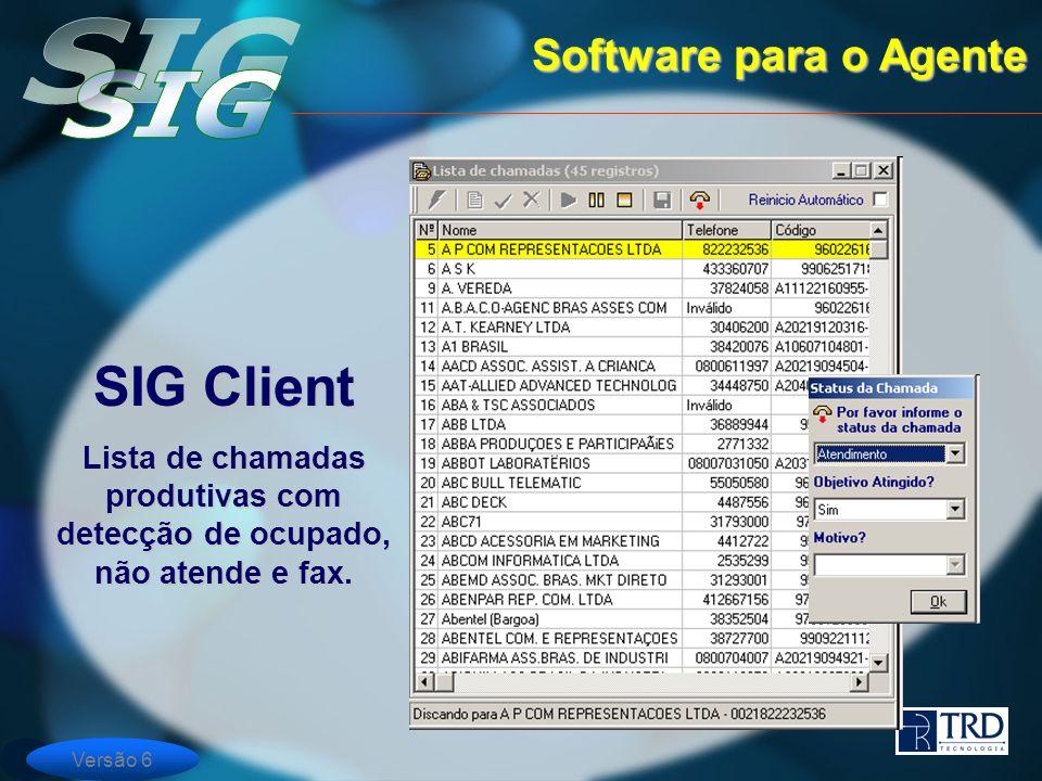 SIG Client Software para o Agente
