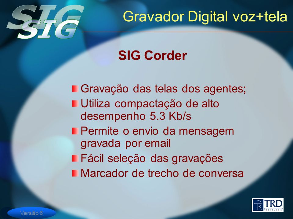 Gravador Digital voz+tela