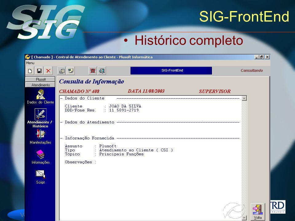 SIG-FrontEnd Histórico completo SIG-FrontEnd