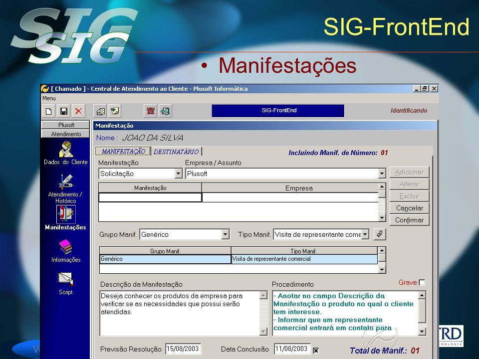 SIG-FrontEnd Manifestações SIG-FrontEnd