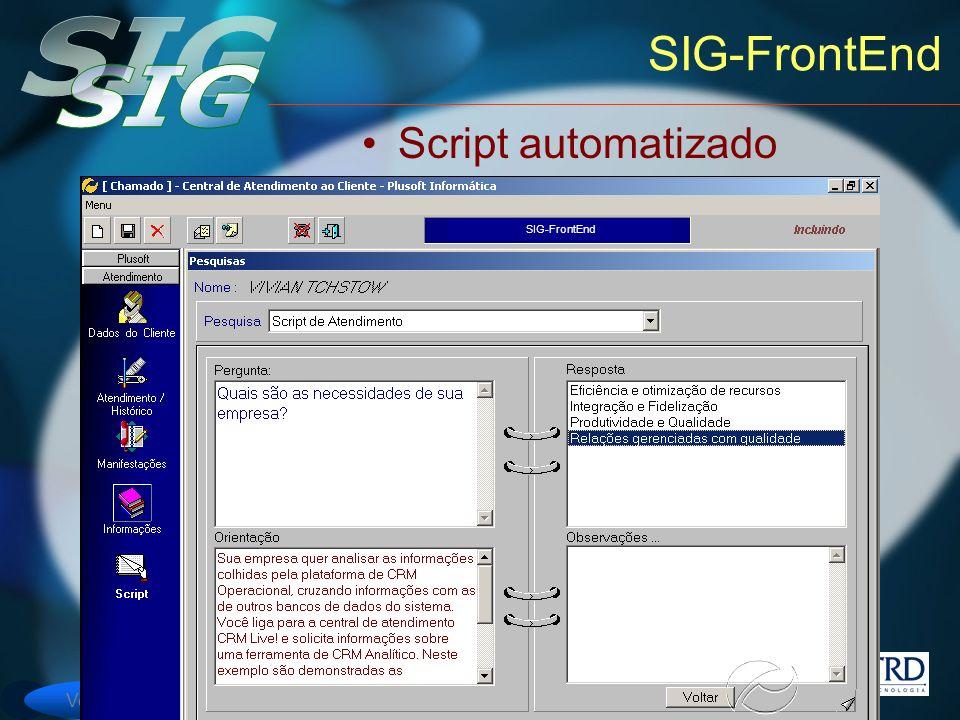 SIG-FrontEnd Script automatizado SIG-FrontEnd