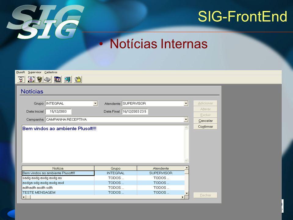 SIG-FrontEnd Notícias Internas