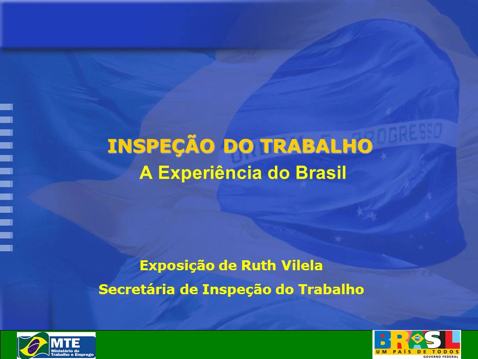 A Experiência do Brasil