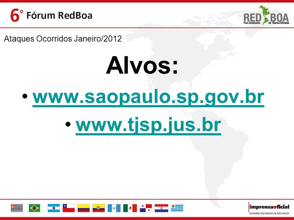 Ataques Ocorridos Janeiro/2012