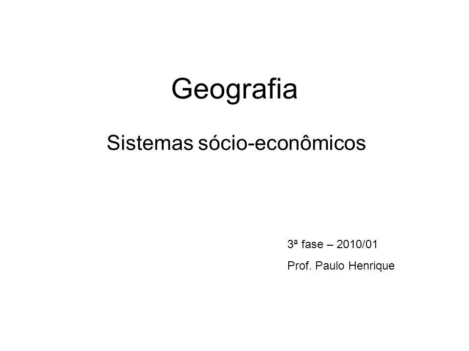 Sistemas sócio-econômicos