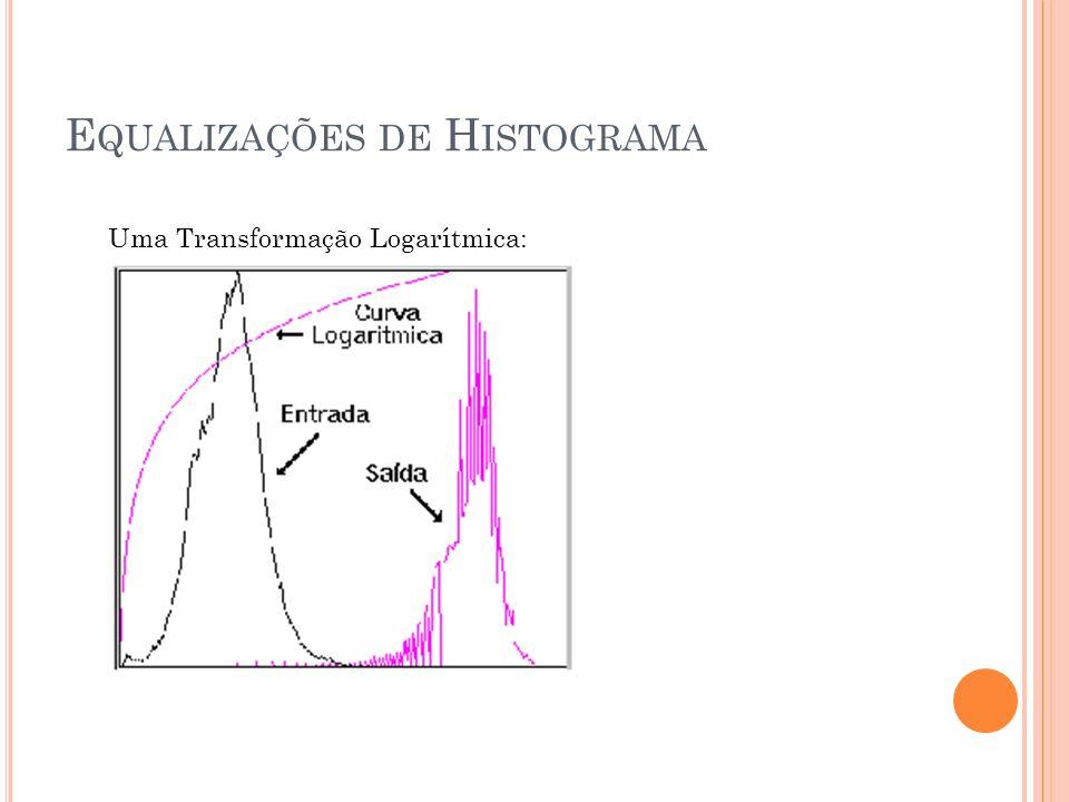 Equalizações de Histograma