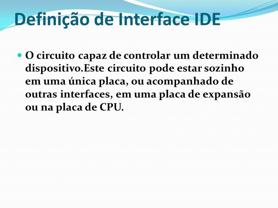 Definição de Interface IDE