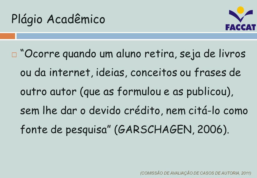 Plágio Acadêmico