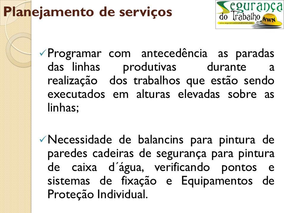 Planejamento de serviços