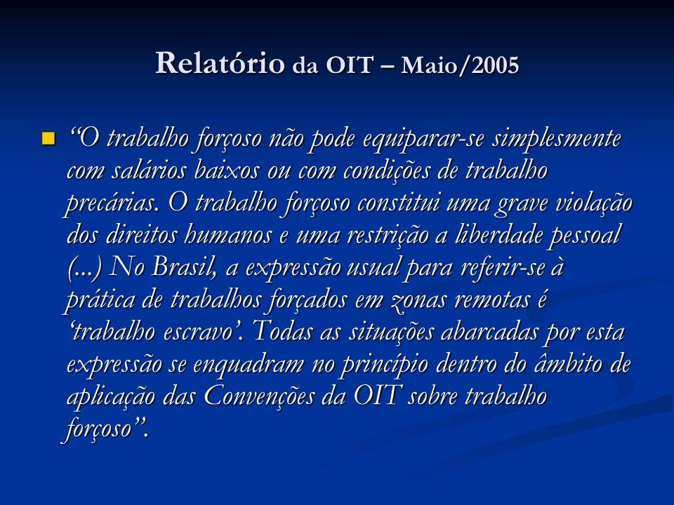 Relatório da OIT – Maio/2005