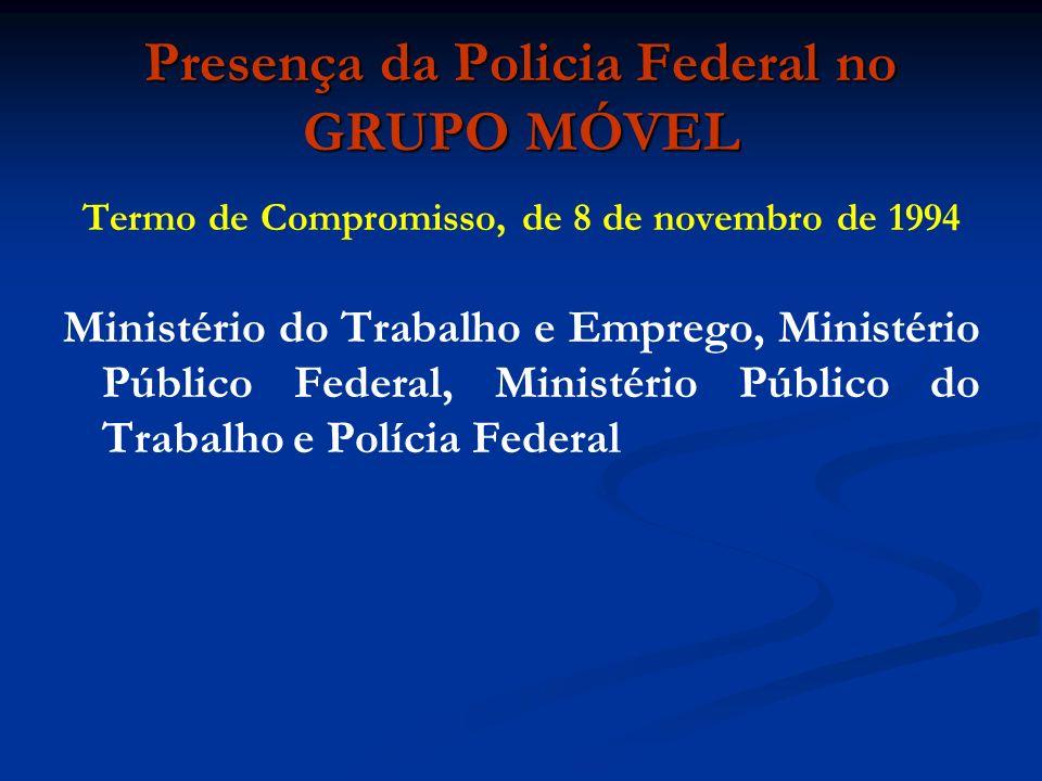 Presença da Policia Federal no GRUPO MÓVEL