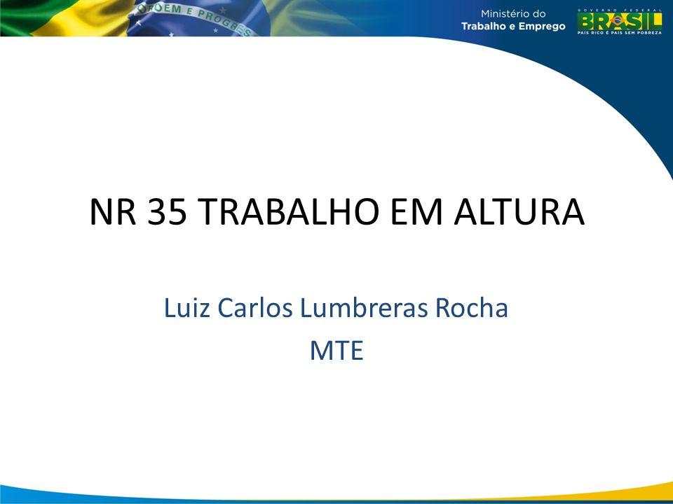 Luiz Carlos Lumbreras Rocha MTE
