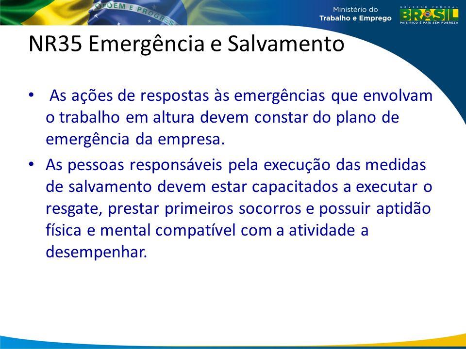 NR35 Emergência e Salvamento