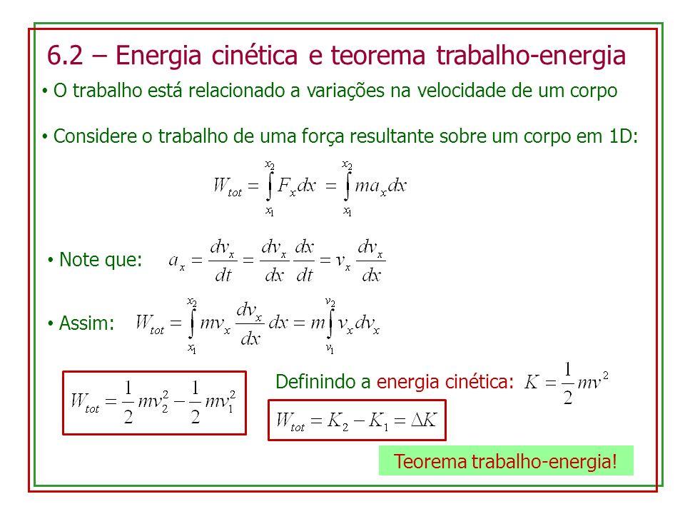 Teorema trabalho-energia!