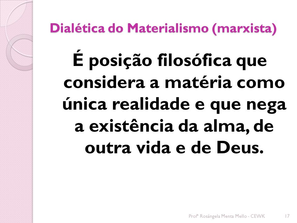 Dialética do Materialismo (marxista)
