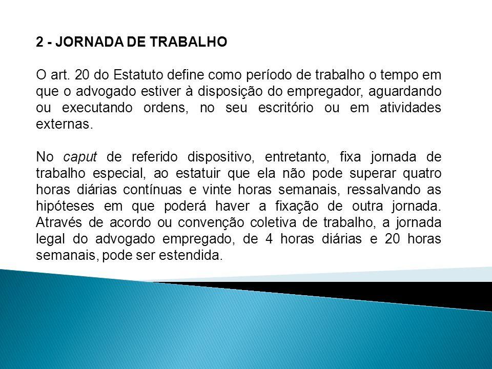2 - JORNADA DE TRABALHO