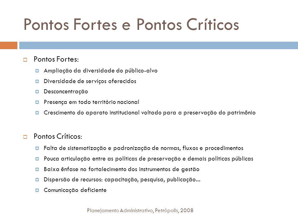 Pontos Fortes e Pontos Críticos