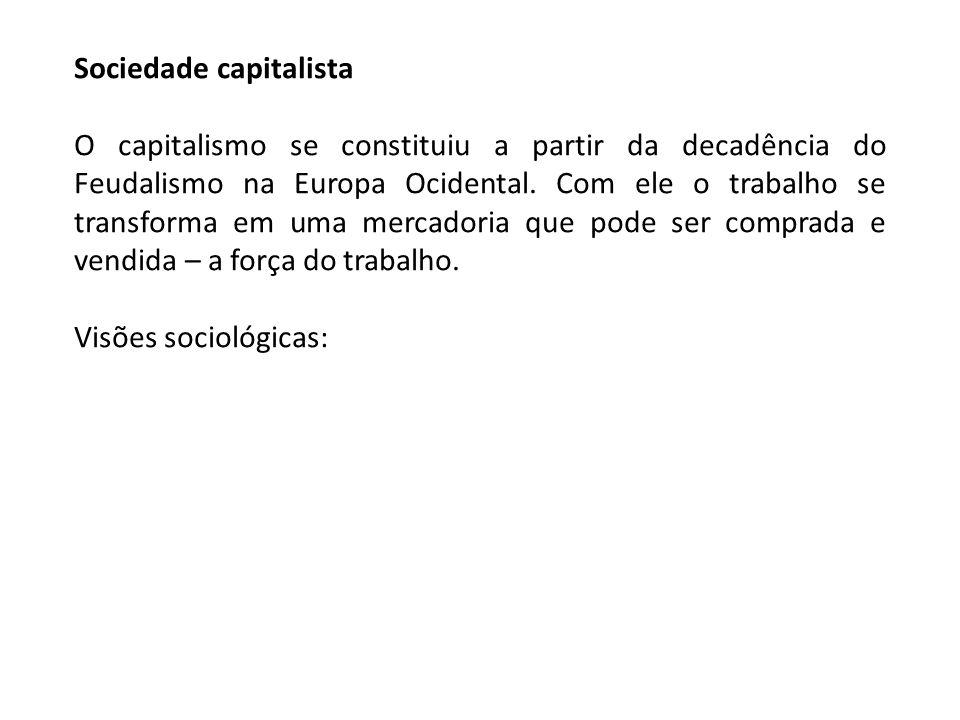 Sociedade capitalista