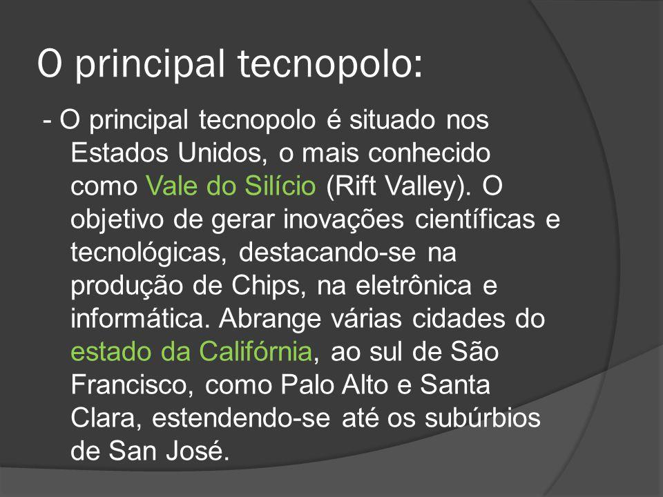 O principal tecnopolo:
