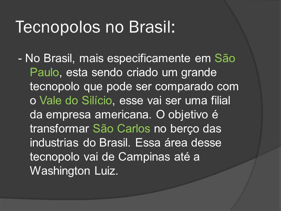 Tecnopolos no Brasil: