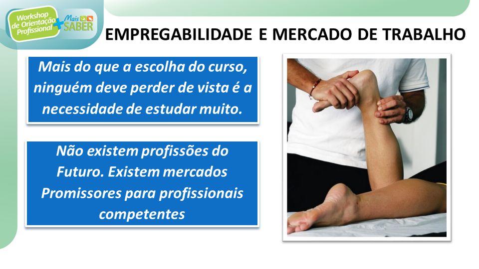 EMPREGABILIDADE E MERCADO DE TRABALHO