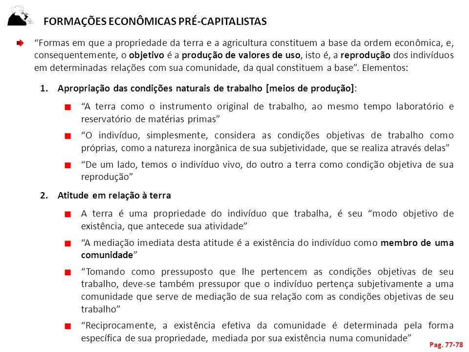 Formações econômicas pré-capitalistas