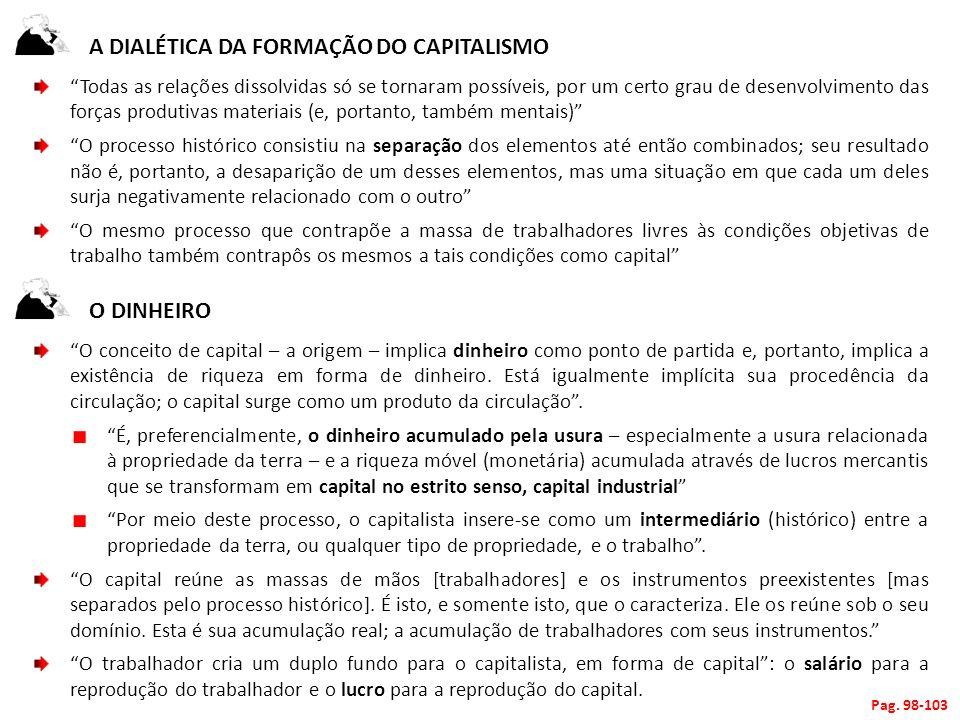 A dialética da formação do capitalismo