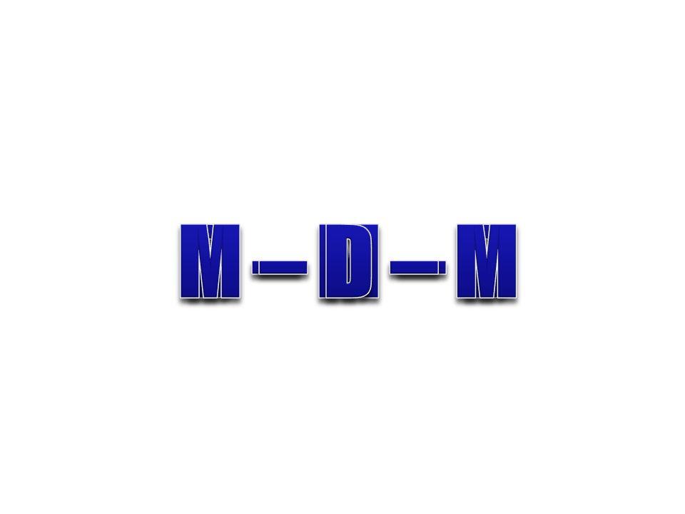 M – D – M D – M – D