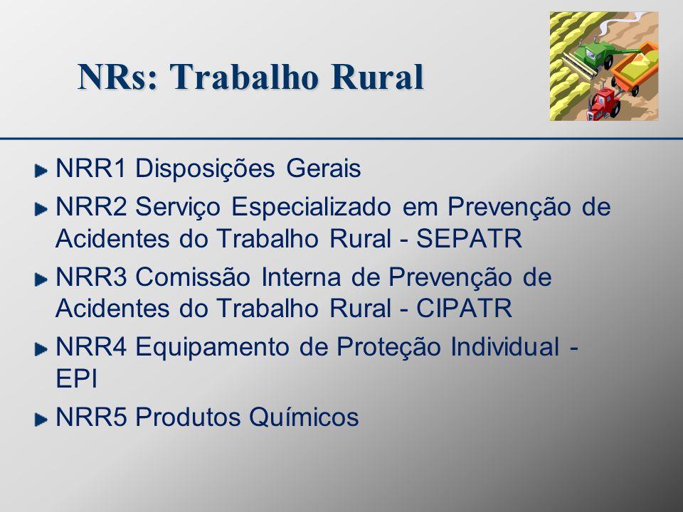 NRs: Trabalho Rural NRR1 Disposições Gerais