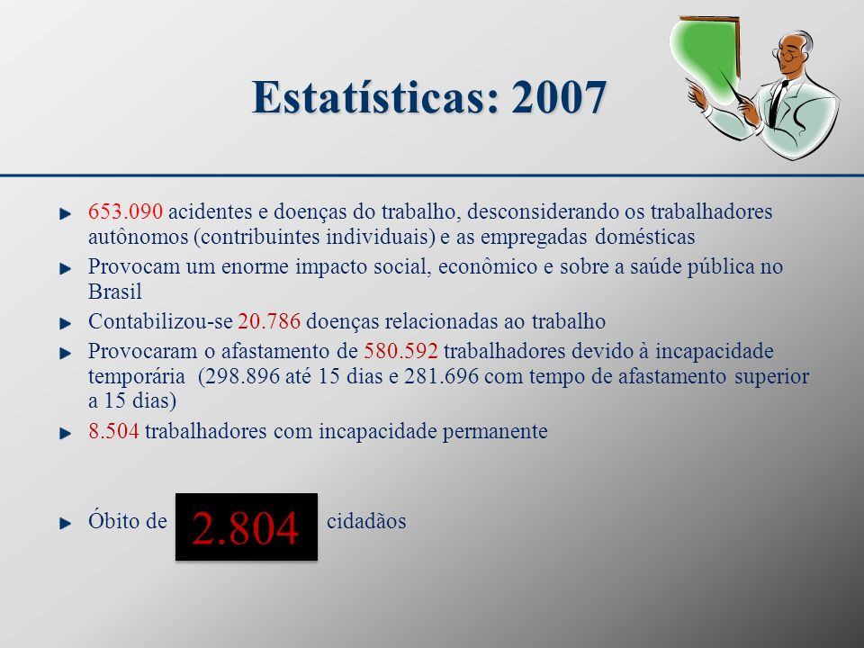 Estatísticas: 2007