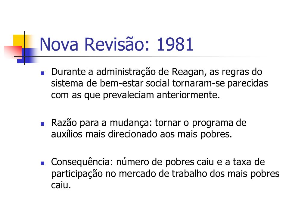 Nova Revisão: 1981
