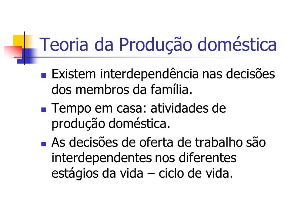 Teoria da Produção doméstica