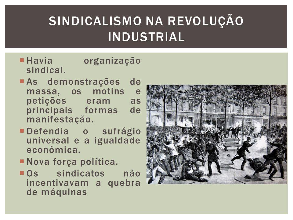 Sindicalismo na Revolução Industrial