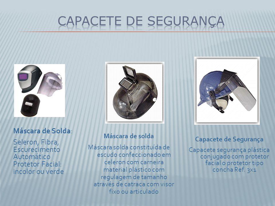 Capacete de Segurança Máscara de Solda:
