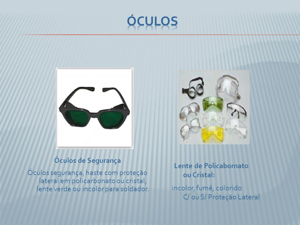 Óculos Óculos de Segurança