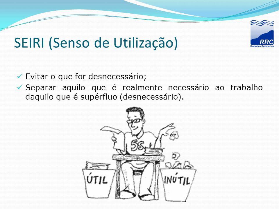 SEIRI (Senso de Utilização)