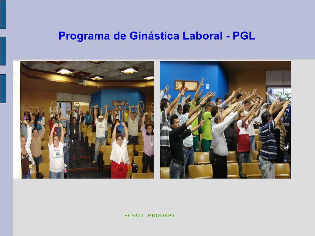 Programa de Ginástica Laboral - PGL