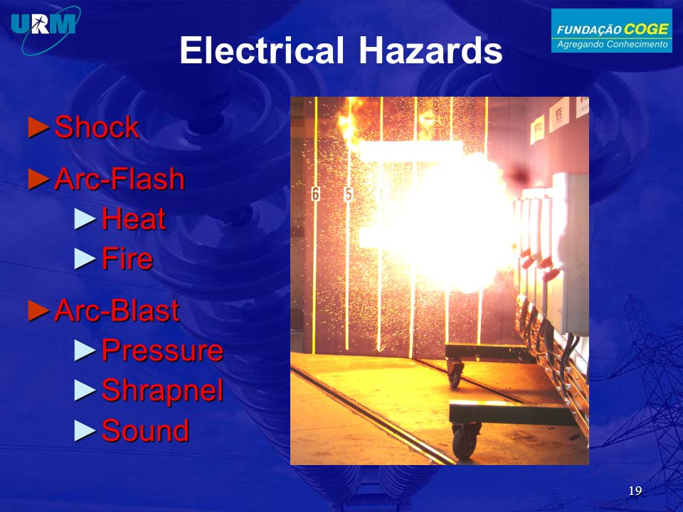 Electrical Hazards Shock Arc-Flash Heat Fire Arc-Blast Pressure