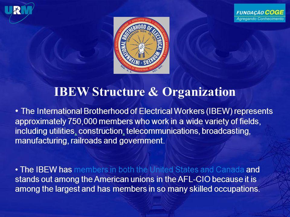 IBEW Structure & Organization