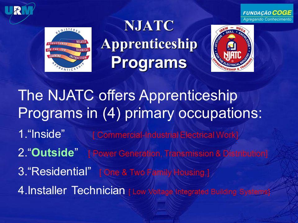 NJATC Apprenticeship Programs