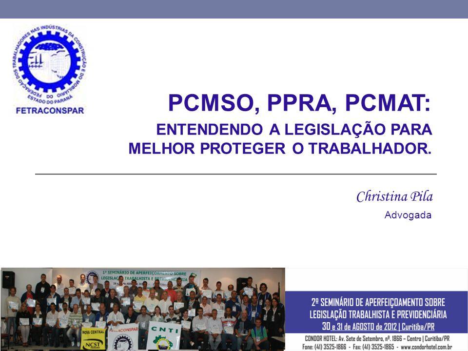 PCMSO, PPRA, PCMAT: ENTENDENDO A LEGISLAÇÃO PARA MELHOR PROTEGER O TRABALHADOR.