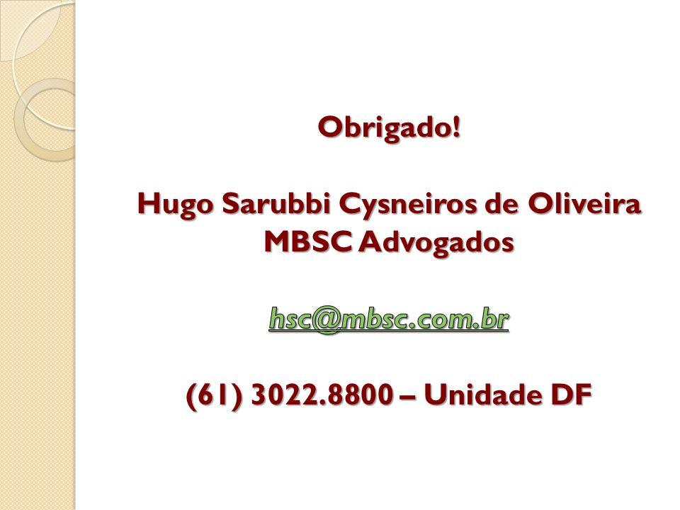Hugo Sarubbi Cysneiros de Oliveira