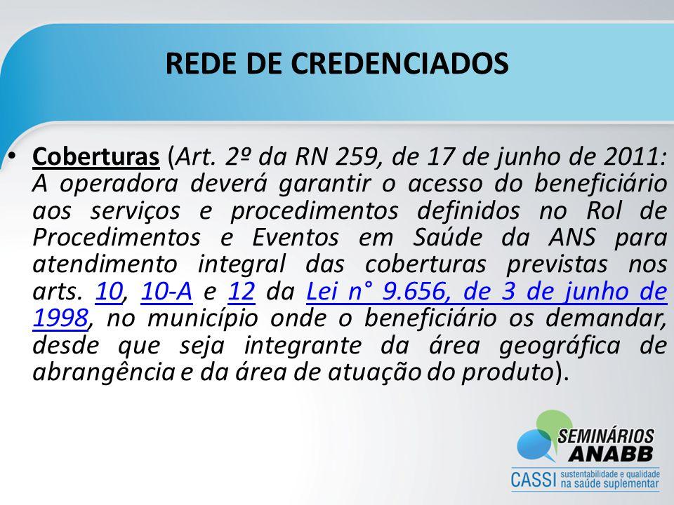 REDE DE CREDENCIADOS