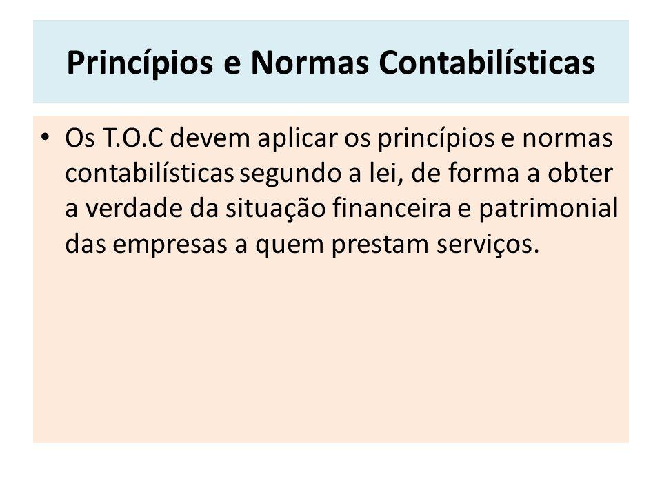Princípios e Normas Contabilísticas