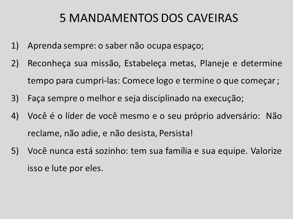 5 MANDAMENTOS DOS CAVEIRAS