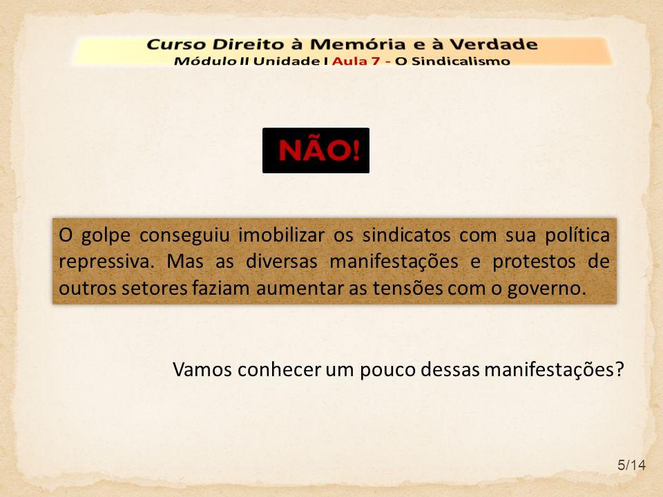 NÃO! Curso Direito à Memória e à Verdade