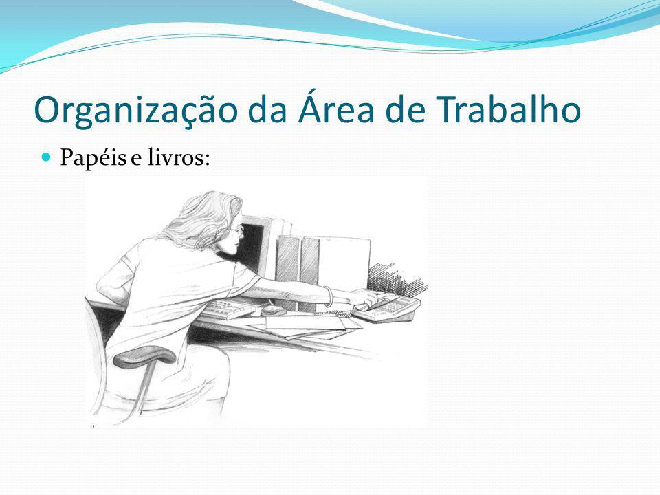 Organização da Área de Trabalho