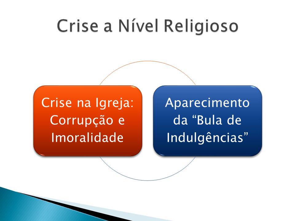 Crise a Nível Religioso