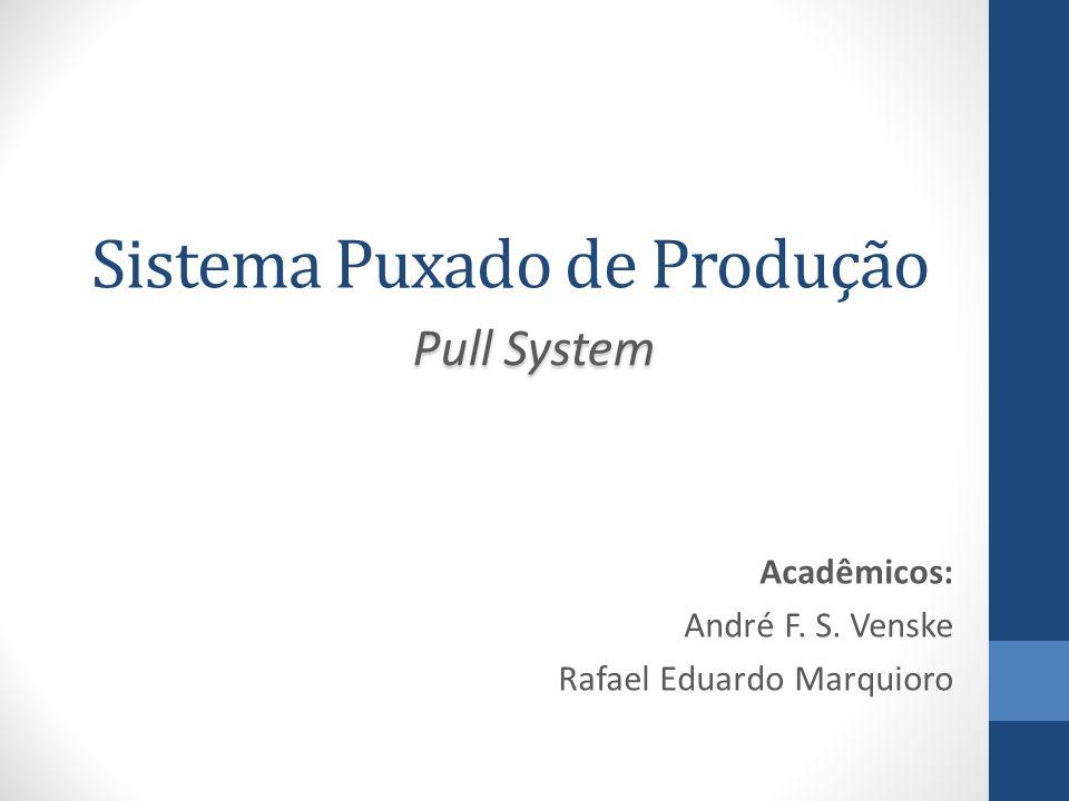 Sistema Puxado de Produção