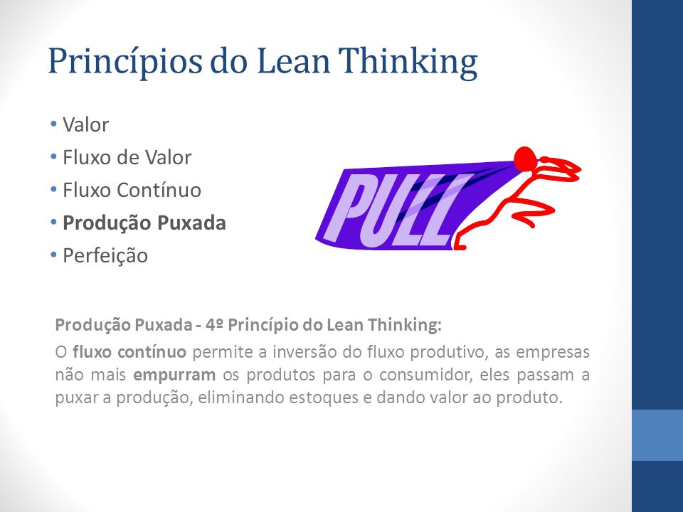 Princípios do Lean Thinking